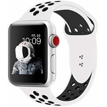 PINHEN Compatible For Apple Watchバンド Apple Watch Series 4 シリコンバンド 腕時計 スポーツバ