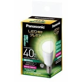 パナソニック LED電球 全方向 E17 LDA4NGE17Z40ESW