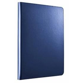 iBUFFALO 9.7インチ iPad Pro用 レザーケース回転 ブルー BSIPD16CLRBL