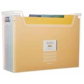 インデックス ファイルボックス 書類収納ケース F1 クリア[フボI-F1C]