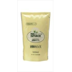 太陽油脂 パックスナチュロン詰替用衣類のリンス500ML 500ML 洗濯補助剤 柔軟剤 柔軟剤(代引不可)