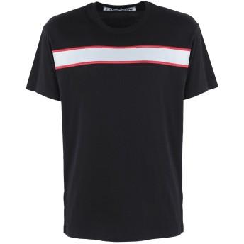 《セール開催中》PIERRE DARR メンズ T シャツ ブラック S コットン 100%