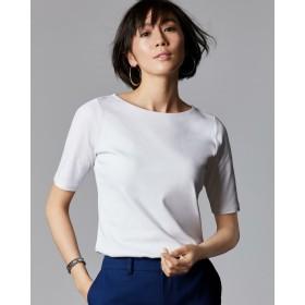 ドゥクラッセTシャツ・ボートネック5分袖/60cm丈