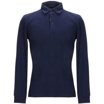 《期間限定セール開催中!》HENRY COTTON'S メンズ ポロシャツ ダークブルー XL コットン 95% / ポリウレタン 5%