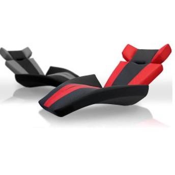日本製 ソファ ソファー リクライニング コンパクト 座椅子 座いす 1人掛け 流線型 マンボーソファ グランデルタマンボウ(代引不可)【送