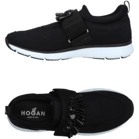 《期間限定セール開催中!》HOGAN レディース スニーカー&テニスシューズ(ローカット) ブラック 34 紡績繊維
