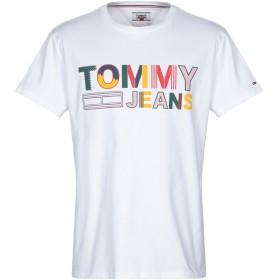 《送料無料》TOMMY JEANS メンズ T シャツ ホワイト XL コットン 100%