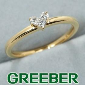 スタージュエリー リング 指輪 ダイヤ ダイヤモンド 0.10ct ミステリアスハート 9号 K18YG BLJ/GENJ 超大幅値下げ品