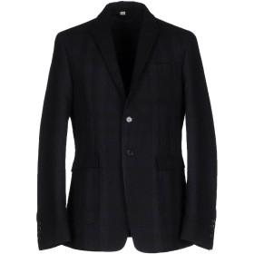 《期間限定セール開催中!》BURBERRY メンズ テーラードジャケット ダークブルー 50 コットン 48% / バージンウール 42% / ナイロン 10%