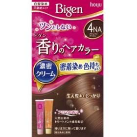 ビゲン 香りのへアカラー濃密クリーム 密着染め色持ちタイプ 4NA(ナチュラリーブラウン)