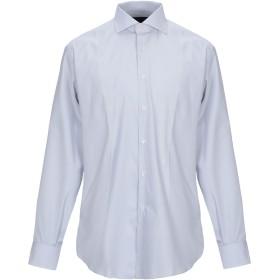 《セール開催中》TRU TRUSSARDI メンズ シャツ ライトグレー 42 コットン 100%