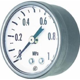 長野 小型圧力計【GK25-271-0.4MP】(計測機器・圧力計)