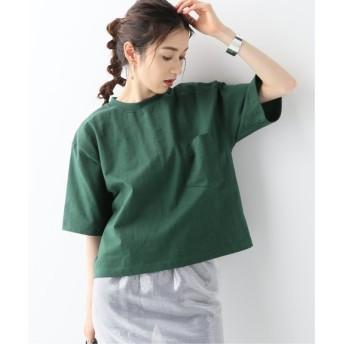 JOURNAL STANDARD 【CAMBER/キャンバー】CUT OFF TEE:Tシャツ グリーン M