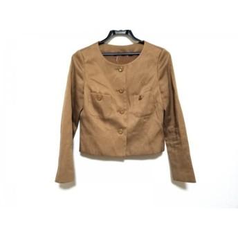 【中古】 アナイ ANAYI ジャケット サイズ38 M レディース ブラウン