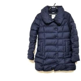 【中古】 タトラス TATRAS ダウンコート サイズ2 M レディース ネイビー 冬物