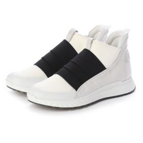 エコー ECCO ST.1 W Sneaker (WHITE/WHITE)