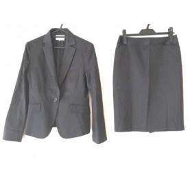 【中古】 ナチュラルビューティー スカートスーツ サイズ38 M レディース ダークグレー グレー