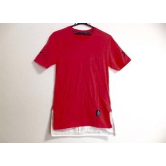 【中古】 ギルドプライム GUILD PRIME 半袖Tシャツ メンズ ピンク 白 黒 スカル/スター