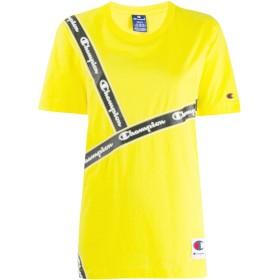 Champion ロゴ Tシャツ - イエロー