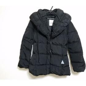 【中古】 モンクレール MONCLER ダウンジャケット サイズ0 XS レディース COPPA 46350 黒 冬物