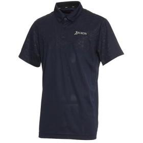 スリクソン(SRIXON) メンズ ゴルフ 半袖シャツ ネイビー RGMLJA08 NV00 襟付き ポロシャツ トップス ウェア スポーツウェア