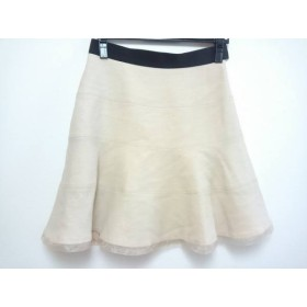 【中古】 アプワイザーリッシェ Apuweiser-riche スカート サイズ2 M レディース アイボリー 黒 ラメ