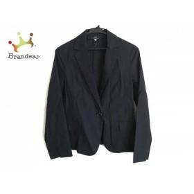 イネド INED ジャケット サイズ9 M レディース 黒 新着 20190415
