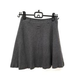 【中古】 バーバリーブルーレーベル Burberry Blue Label スカート サイズ36 S レディース ダークグレー