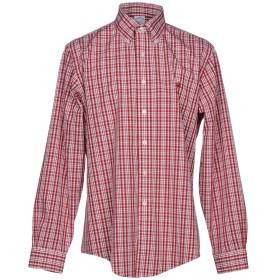 《期間限定セール開催中!》BROOKS BROTHERS メンズ シャツ ボルドー S 100% スーピマ