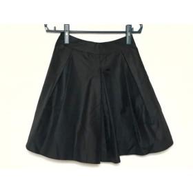 【中古】 エムズグレイシー M'S GRACY スカート サイズ36 S レディース 黒