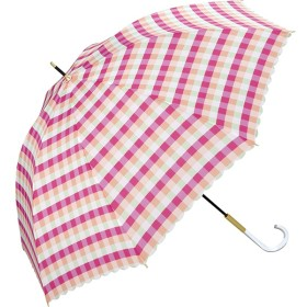 [マルイ]【セール】【長傘】キャンディチェック/軽くて丈夫で持ちやすい(レディース雨傘)/w.p.c(WPC)