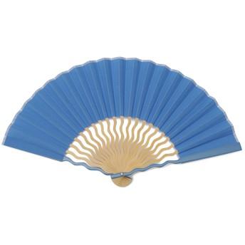 UNEUNE 扇子 ブルー