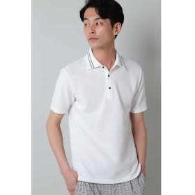 [マルイ]【セール】HIGH STREET∴ブロックニット2枚衿ポロシャツ/ハイストリート(HIGH STREET)