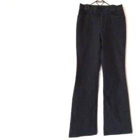 【中古】 ビースリー B3 B-THREE パンツ サイズ34 S レディース ダークグレー