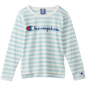 ガールズ ロングスリーブTシャツ 19SS チャンピオン(CJ4230)【5500円以上購入で送料無料】