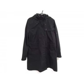 【中古】 ラコステ Lacoste コート サイズ42 L レディース 黒 春・秋物