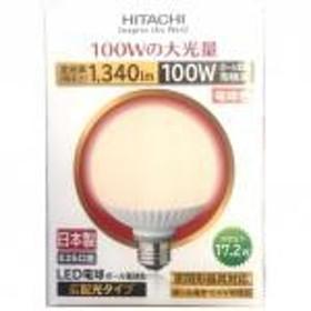 【新品/在庫あり】日立 LED電球 (一般電球形・全光束1520lm/電球色相当・口金E26) LDA17L-G [LDA17L