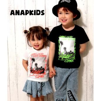 ANAP KIDS アナップキッズ グラフィティフォトプリントTシャツ