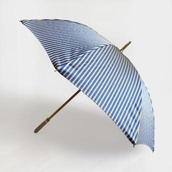 Pradelle - プラデル - 晴雨兼用傘 - ストライプ長傘 Beige/Blue