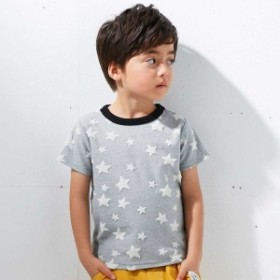 エフオーオンラインストア(F.O.Online Store(SC))/星柄ジャガードパイルTシャツ