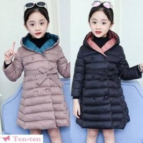 アウター ジャケット 綿入れコート 中綿ジャケット かわいい 女児 韓國子供 女の子 キッズコート 暖かい 防寒 子供服コート キルティング