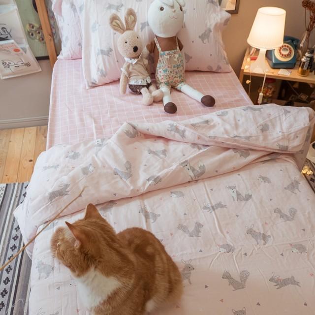 二層紗(100%純棉) 涼被與枕套綜合規格賣場 (童話家族) 內有兒童尺寸可選【棉床本舖】