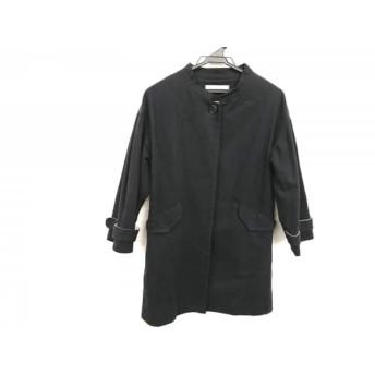 【中古】 ヒューマンウーマン HUMAN WOMAN コート サイズ2 M レディース 黒