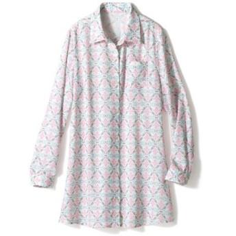 60%OFF【レディース】 ロングシャツ ■カラー:B ■サイズ:M