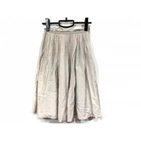 【中古】 ジユウク 自由区/jiyuku スカート サイズ30 XS レディース グレージュ