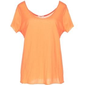 《期間限定セール開催中!》AMERICAN VINTAGE レディース T シャツ オレンジ S スーピマ 100%