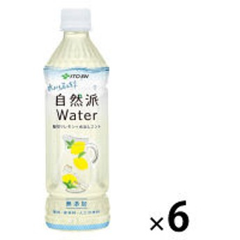 伊藤園 自然派ウォーターレモン 500ml 1セット(6本)