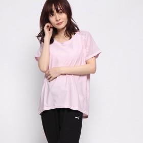 ティゴラ TIGORA レディース フィットネス 半袖Tシャツ TR-3F2179TS