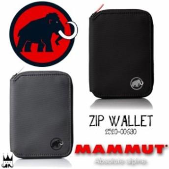 マムート MAMMUT メンズ レディース 財布 ZIP WALLET 2520-00690 0001 0213 二つ折り ラウンドファスナー ラウンドジップ サイフ さいふ