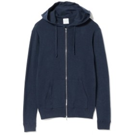 Letroyes / RENE ジップアップパーカ メンズ パーカー NAVY/CP088 5